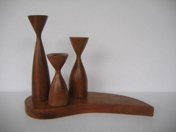 Danish Modern Candleholder
