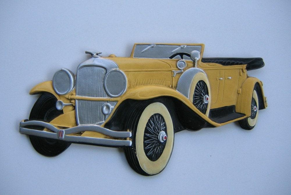Great Gatsby Car Plaque