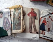 DOLLAR SALE Grab Bag of Misses Vintage Sewing Patterns - Size 14