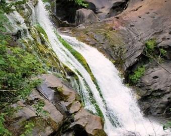 Fine Art Photography, Waterfall Photography, Matted Photography, Landscape Photography, Home Decor, Office Decor, Inspirational Art