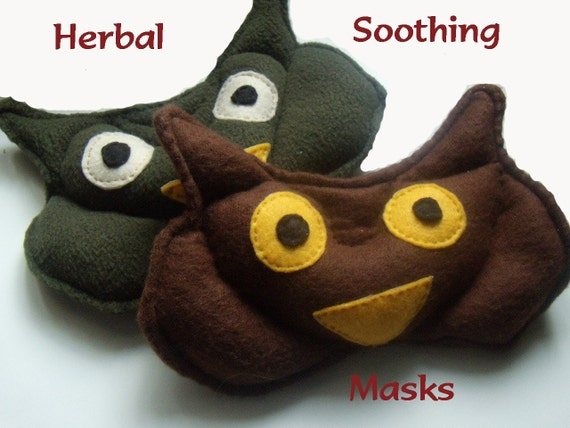 Herbal Owl facial mask