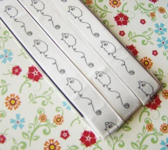 Magnet Bookmark - Pattern Keeper - 3 - UNRAVELING SHEEP - Cream