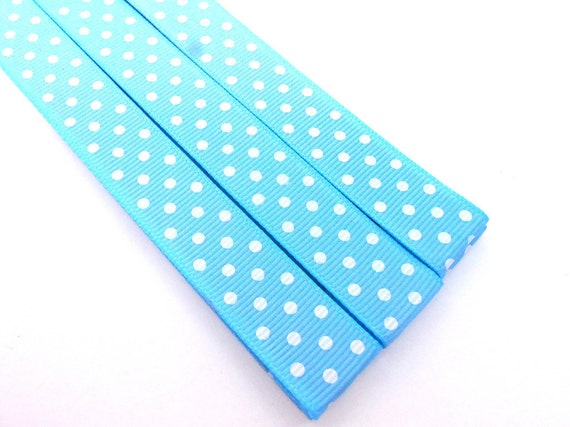 Pattern Place Keeper - Magnet Bookmark - Knitting Crochet - Light Blue Dots