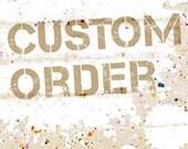 Cutom Order for VeganDogsLife.Etsy.com