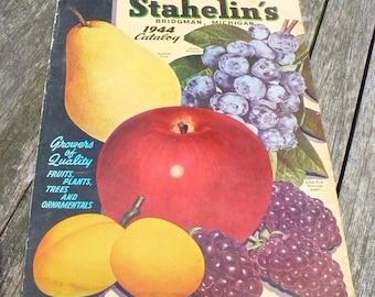 Stahelin's Catalog - Bridgman, Michigan - 1944