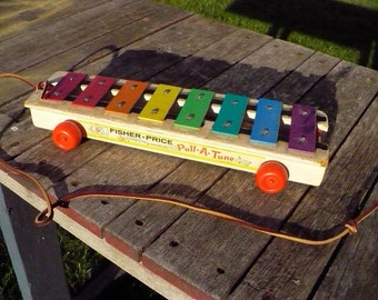 Fisher price Pull-A-Tune Musical toy