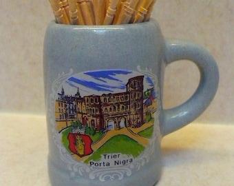 Tiny Shot Glass - Porta Nigra souvenir - Germany