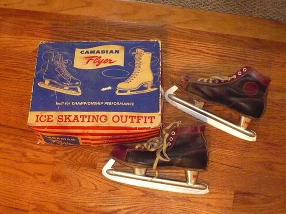 Canadian Flyer Ice Skates - size 8