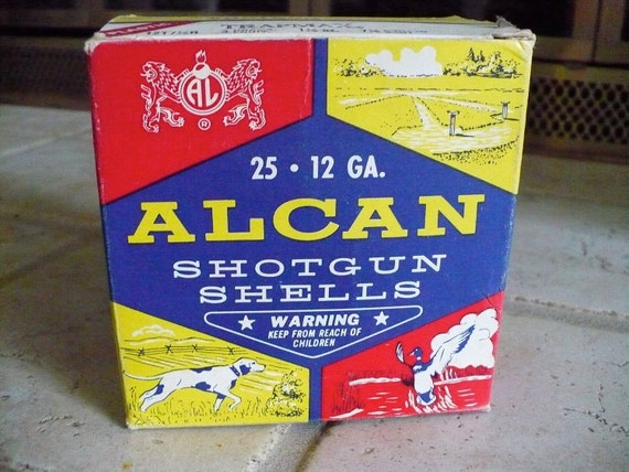 Alcan Shotgun Shell box