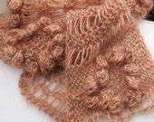 SunFlower Glow Scarf PDF Knitting Pattern