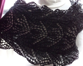 Knitting Pattern Elvira PDF Scarf