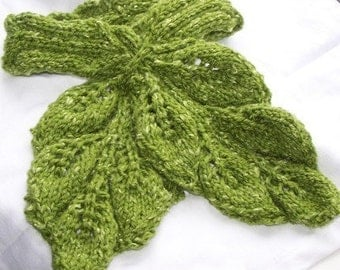 Scarf Pattern Collection -Leaf Lover 8 scarf patterns