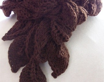 Scarf knitting pattern - Tangled