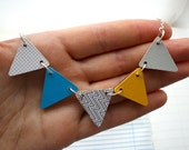 Bunting Necklace - Sun and Sea