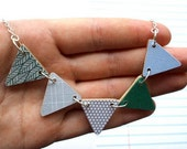 Bunting Necklace - Garden