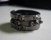 Barnacle Ring set custom made for Truckgrrl
