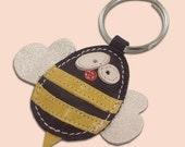 Cute little bee keychain