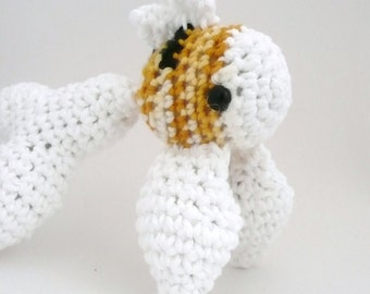 Amigurumi Koi, Yellow, White and Black