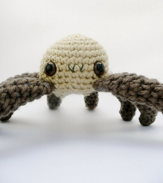Brown Spider Amigurumi Plush