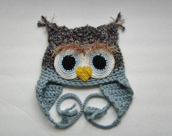 Fuzzy Owl Hat
