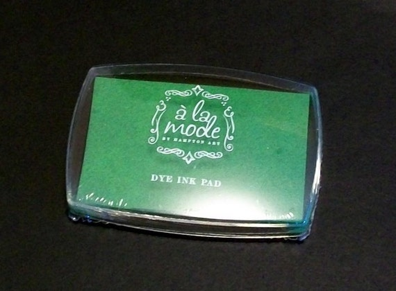 Dye Ink Pad... Green Ink Pad... Scrapbooking... Rubber Stamping... Paper Crafts...