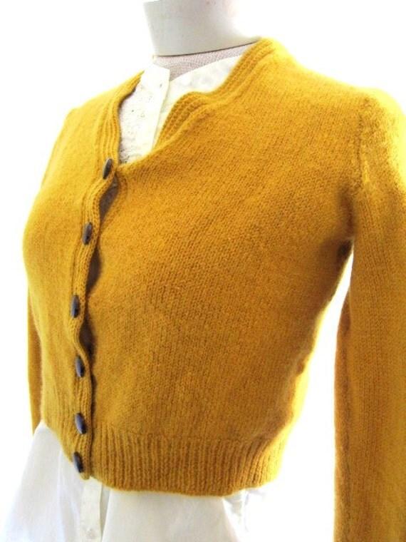Mustard Yellow Cardigan Ladies 116
