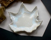 Thimbleberry Stoneware Leaf from the Forest