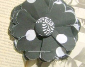 The Roxie Fabric Flower Brooch or Hair Clip