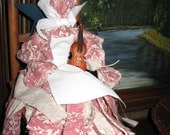 Molly Rag Doll is visiting from the Prairie - Free Shipping