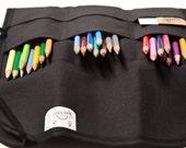 Pencil roll-up -- dark ninja