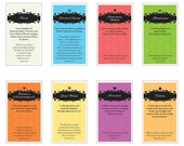 Young Women Value Banners (set of 8)