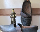 Very Old Wooden Clogs