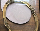Vintage Gold Convex Bubble Frame