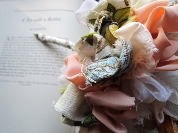 Vintage Fabric Bouquet