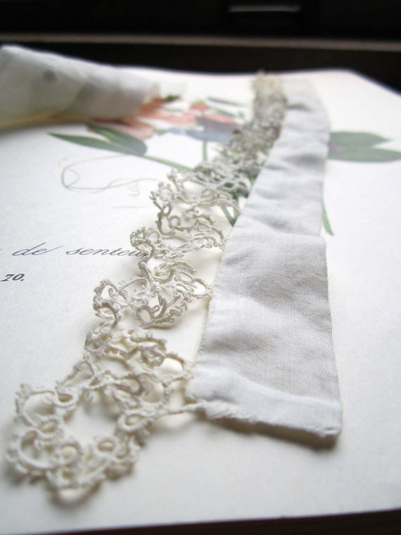 On Reserve Two Antique Lace Collars