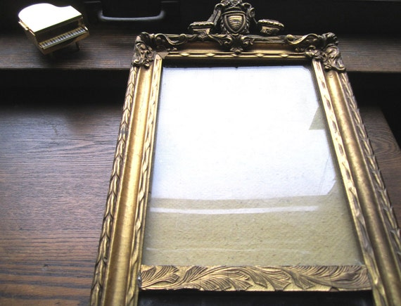 Antique Frame and Mirror