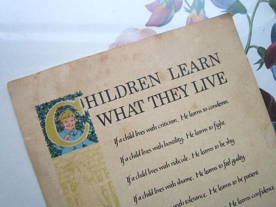 Vintage Advertisement Nursery Decor