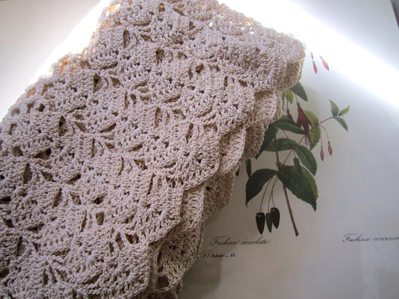 Vintage Hand Crocheted Skirt