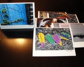 Artsy.  Pack of 6 Photo Note Cards
