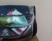 SALE - the twelve angled bag....
