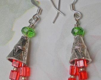 Christmas bells earrings