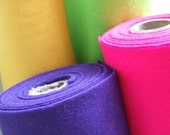 FELT acrylic FIVE metres of ONE colour - tell me your colour choice at checkout