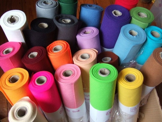 FELT 1m / yard of each 36 colours UK postage only 3.80