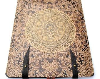Leather Case for iPad Air, iPad Air 2, iPad 4, iPad Mini & Kindle- Elegant Antique Lace design