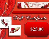 Gift Certificate 25 dollars TJBdesigns Needlework Accessories Bookmarks