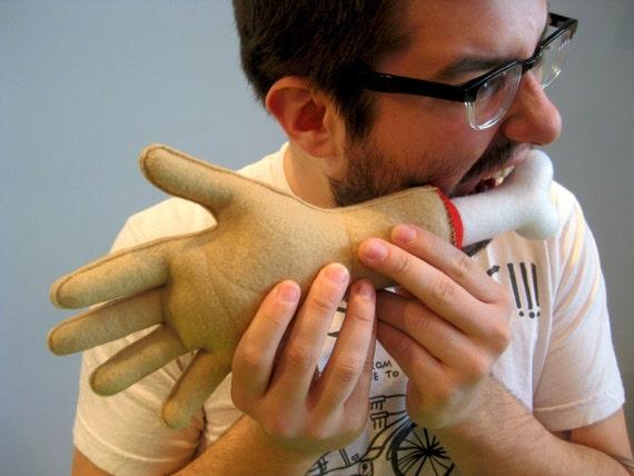 Severed Hand Plushy