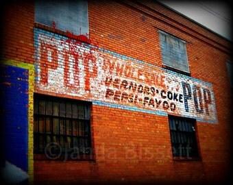 Fine Art Urban Detroit Photography We Call It Pop