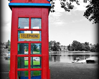 Phone Booth Dream Series No. 2 Fine Art Photographic Print