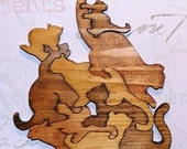 All About Cats Wooden Puzzle