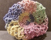 Crochet Hair Bun Cover